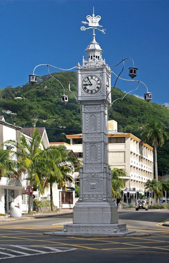 Victoria Clock (little 'Big Ben') - #Mahe, #Seychelles