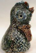 Weird Wally bird head   Martin Brothers Stoneware Pottery  1873 - 1915 Southall Middlesex