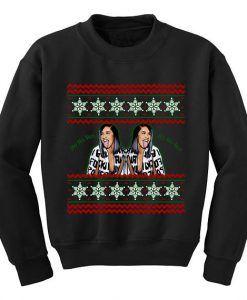 Cardi B Christmas In Black Sweatshirt Best Deal Sweatshirt