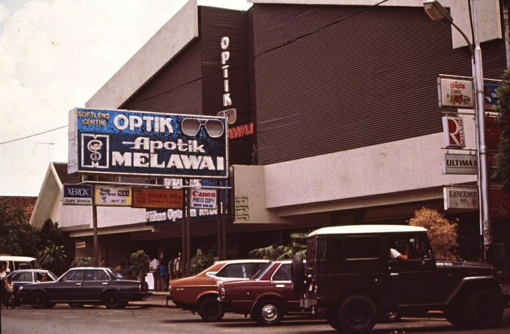 The Trendsetter..  at the time..  Blok M at 1983.