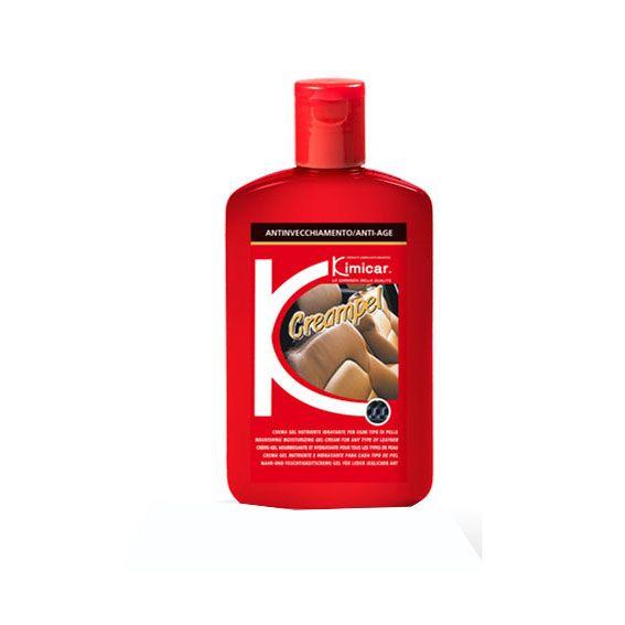 CREAMPEL 250 ML. Trattasi di una crema-gel nutriente e idratante per ogni tipo di pelle. E' indispensabile per mantenere la naturale elasticità e morbidezza della pelle, evitando screpolature da invecchiamento. Mantiene l'aspetto ed il colore originale, conservandoli nel tempo.