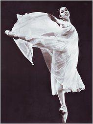 Danish-born ballerina Lone Isaksen Rhodes; (1941 - 2010)