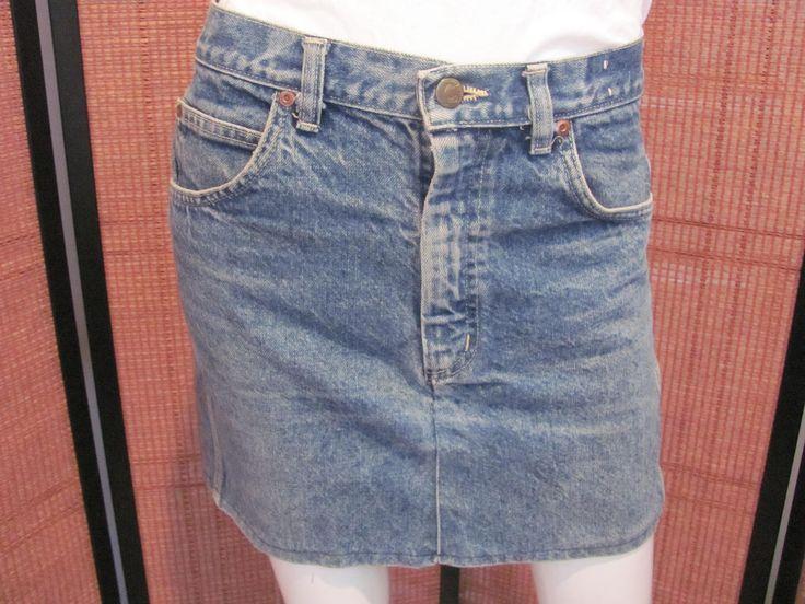 HANG TEN MINISKIRT, 1960/70's Hang Ten Denim Mini Made from Denim Pants, Vintage Hang Ten Denim, Hang Ten Surf  Clothing, Hippie Mini Skirt by VintageGypsieRose on Etsy
