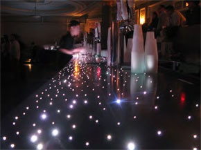 CineLighting™ LED Star Countertops!! Best used in bars, restaurants, and nightclubs.