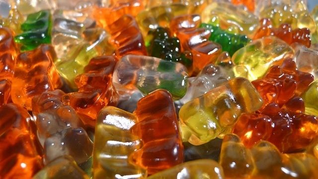 Getting drunk off of gummy bears, need I say more?
