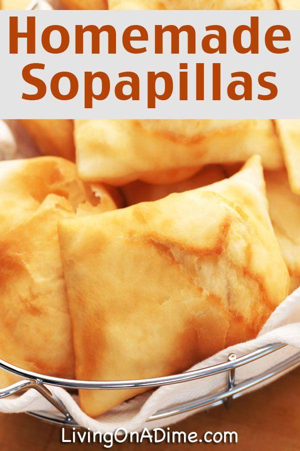 Easy Homemade Sopapillas Recipe - Click Here For The Easy Recipe!