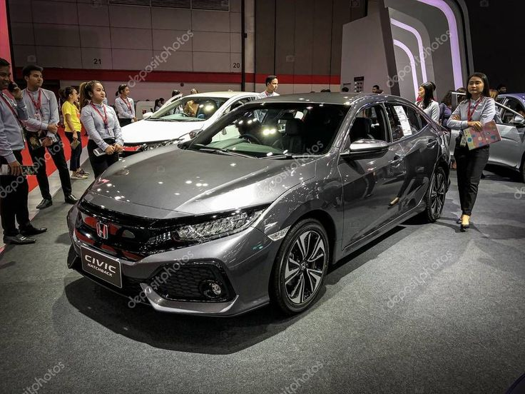 Bangkok Thailand Aug 2019 Honda Civic Hatchback Model 2019