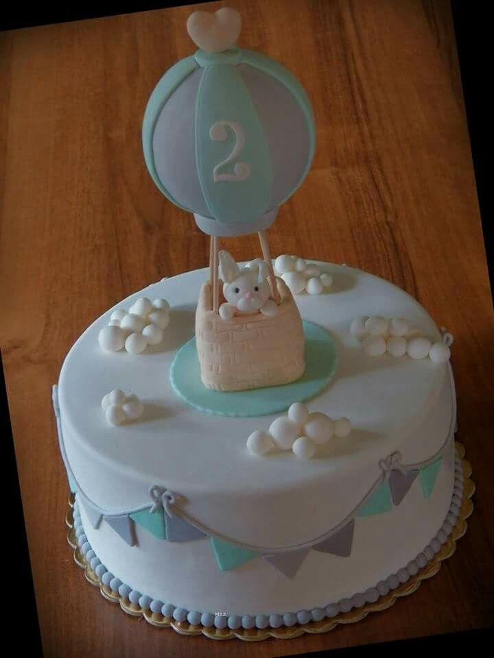 Cake with baallon