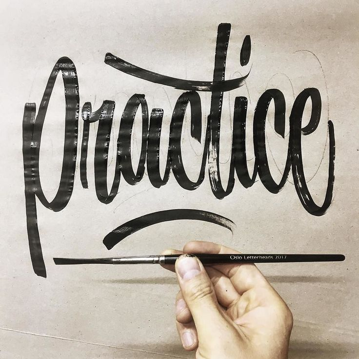 How often do you practice? Hopefully this wonderful piece by @copenhagensigns will inspire you to practice more often Feel free to share your work at http://ift.tt/2uLoFk2 #goodtype #ligaturecollective #typographie #typegang #typeyeah #thedailytype #typographyinspired #typespot #typedrawn #greattype #tyxca #slowroastedco #50words #typism #brushlettering #designspiration #calligritype #handdrawntype #calligraphy #typography #lettering #typografi #thedesigntip #typematters #type #letteringco…
