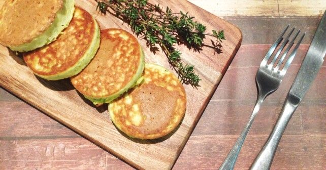 Wholesome pikelets, gluten, sugar, nut and dairy free. Loaded with vegetables and a sweet version also
