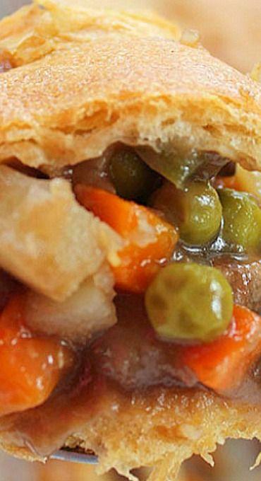 Beef Pot Pie Casserole