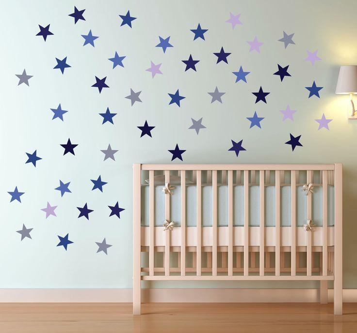 blue stars wall stickers uk - Google Search