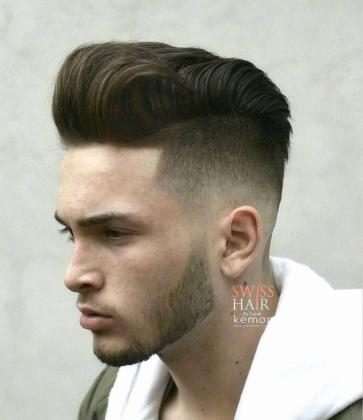 swisshairbyzainal_and cool pompadour haircut for men