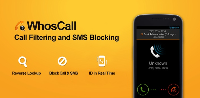 Download WhosCall-block calls, texts App For Android (Version 3.8.0.1) Apk at http://allforandroid.net/app-for-android/whoscall-block-calls-texts-app-for-android-version-3-8-0-1-apk.html