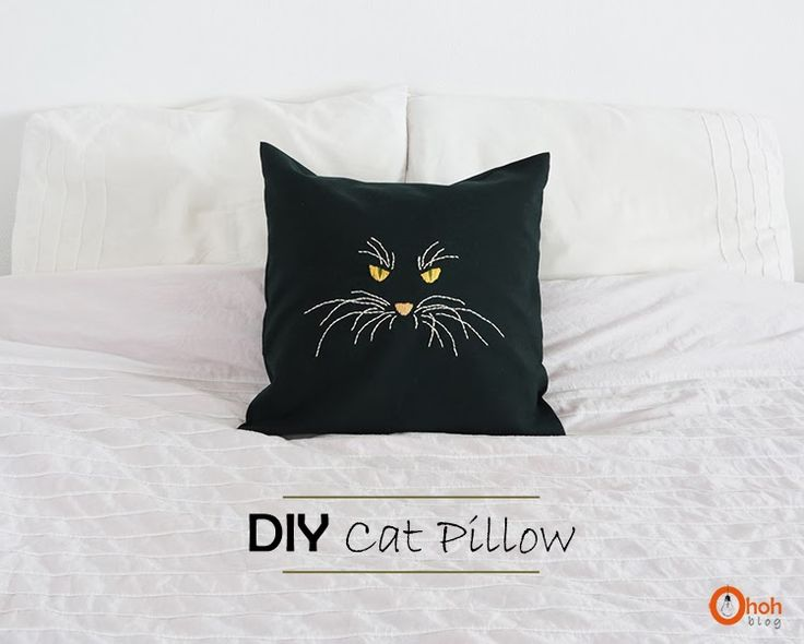 Ohoh Blog - diy and crafts: Cat Pillow