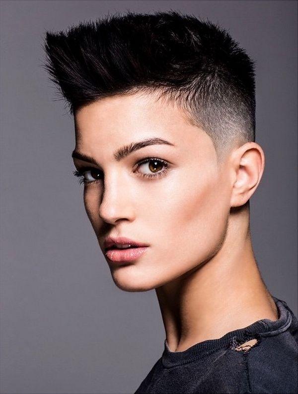 30 idées de coupes de cheveux pour les filles qui aiment se la jouer androgyne - page 2