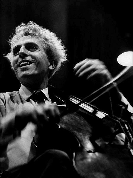 Paul Tortelier (1914-1990) - French cellist and composer. Photo 1967 by Werner Neumeister