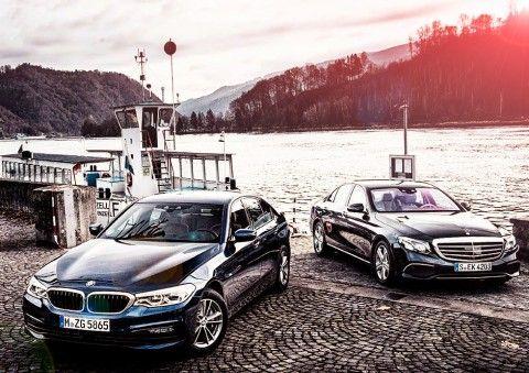 2017 BMW 5-series G30 530d xDrive SE vs. 2017 Mercedes-Benz E-class E350d W213