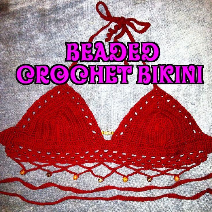 Beaded Crochet Bikini Pattern - How To Crochet A Bikini