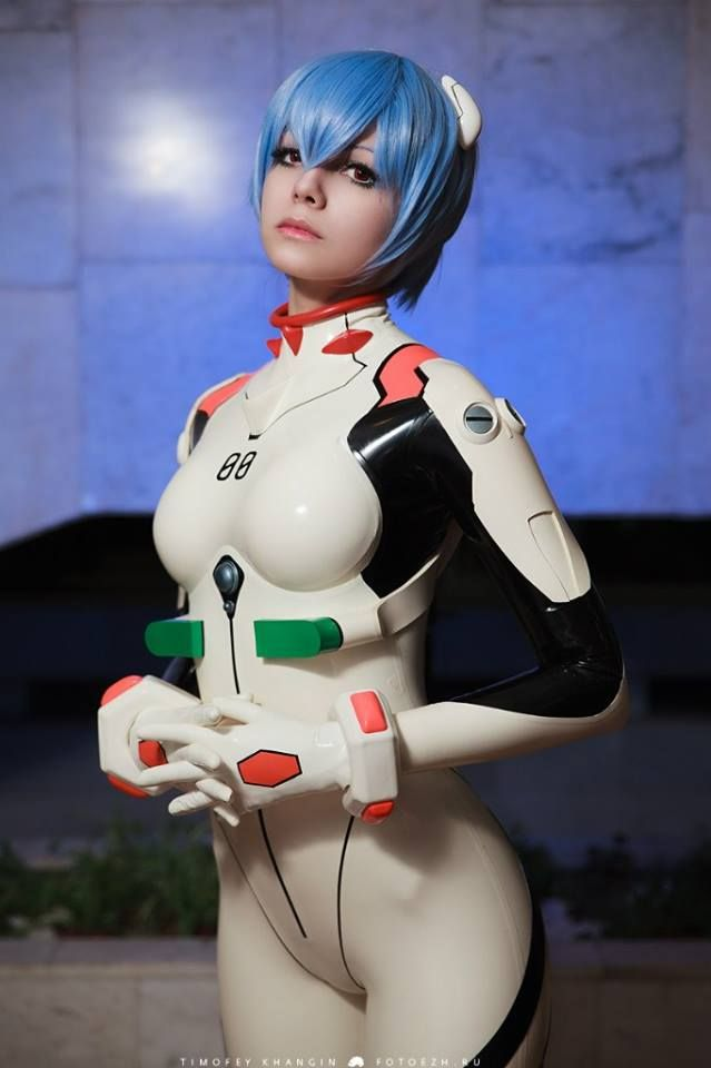 Rei ayanami cosplay costume