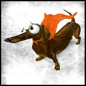 How Dachsies see themselves :)
