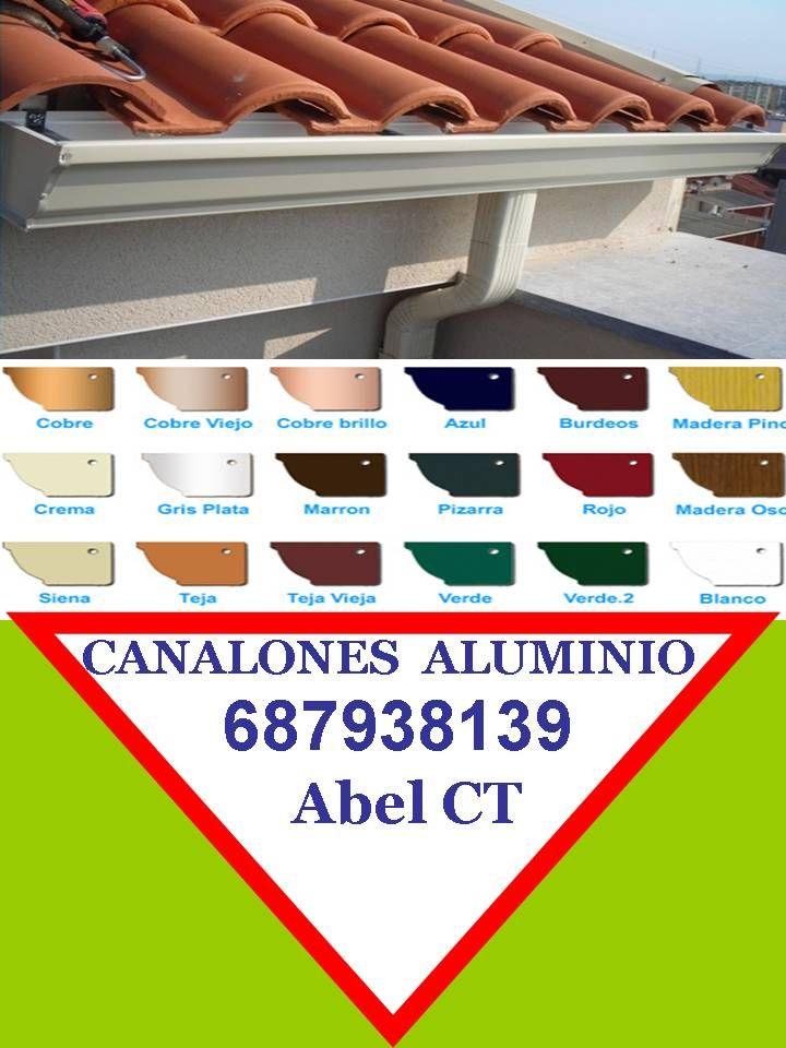 CARPINTERÍA DE ALUMINIO EN CARTAGENA 687938139 CANALON ALUMINIO MURCIA