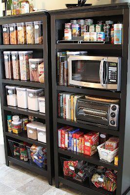 Best 25 Bookshelf Pantry Ideas On Pinterest Wood Crate