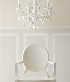 Calming cream/Ben Moore: Mists, Chairs, Ghosts, Cream Paintings Colors, Paintings Wall, Benjamin Moore, White Paintings, Style At Home, White White