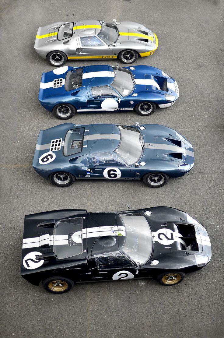 ford gt40 - mk ii + mk i + mk i + mk ii(?) versions - 1964-69