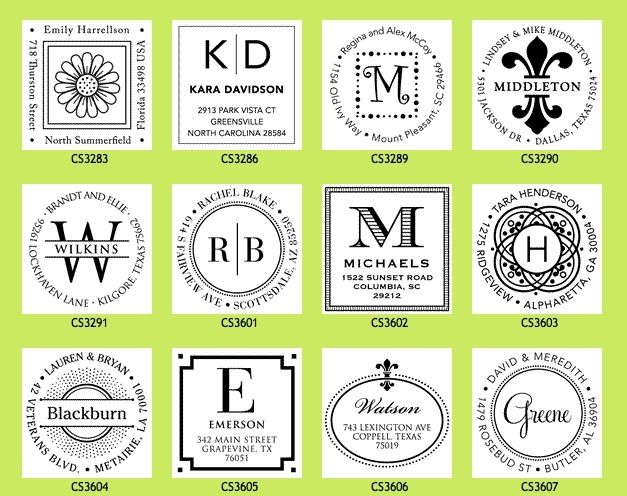 114 best gift ideas images on pinterest christmas gift ideas win a personalized address stamper with this giveaway these are the best self inking stampers great gifts and perfect for those who love stationery and negle Image collections