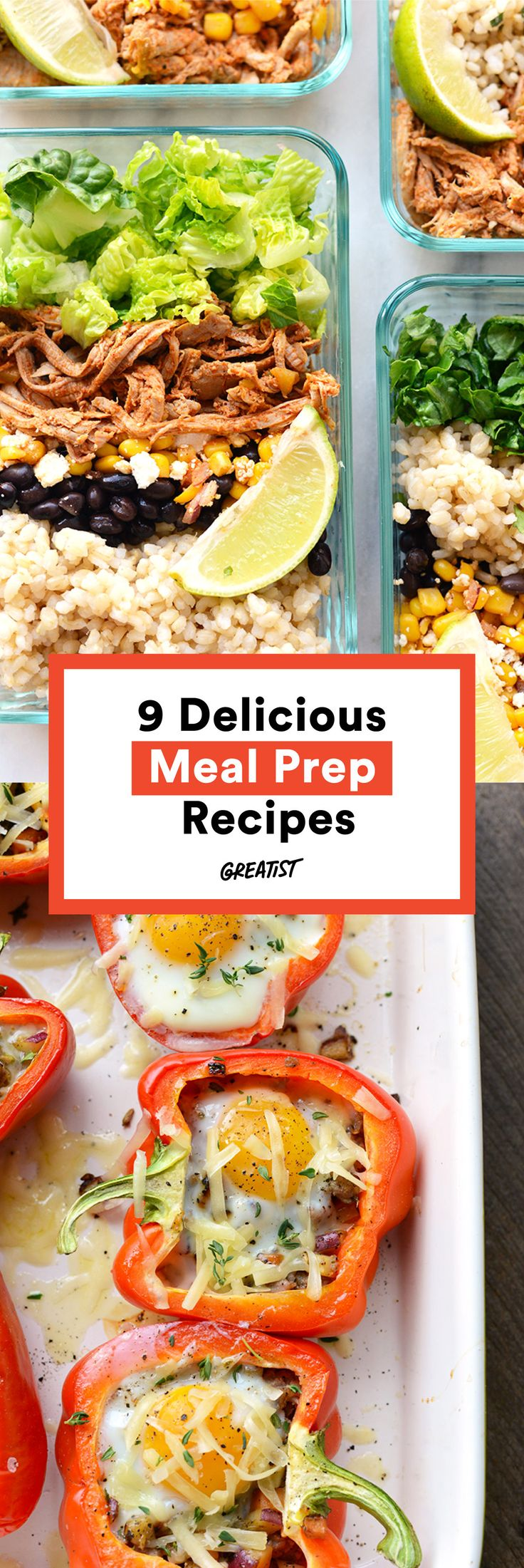 Meal prep, get set, go! #greatist http://greatist.com/eat/meal-prep-recipes-for-every-meal
