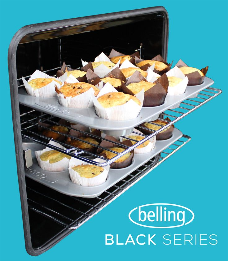 Market leading capacities of up to 85L make the Belling Black Series the perfect appliances for home master chefs and kitchen novices alike.