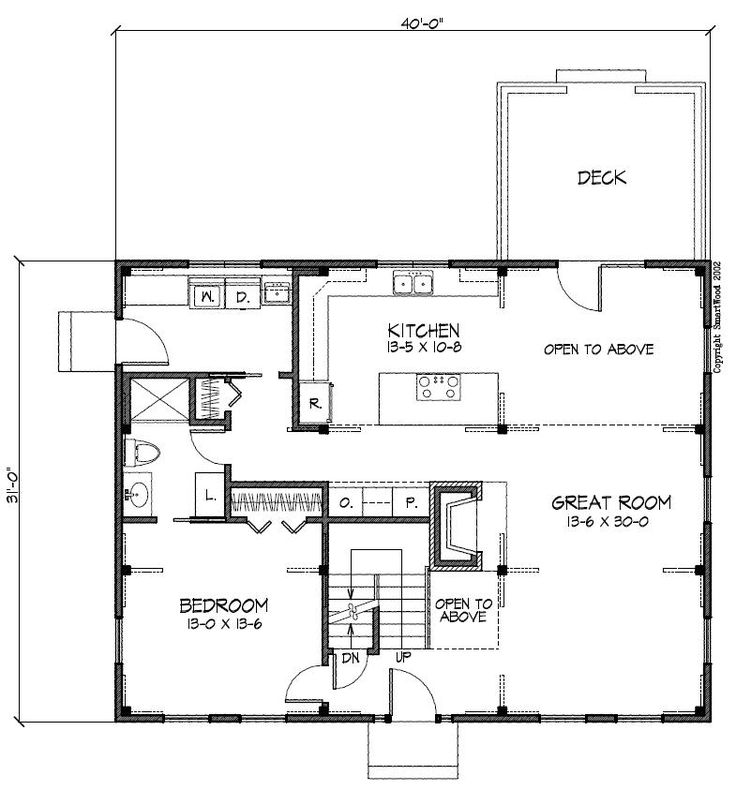 Saltbox floor plans for Saltbox plans