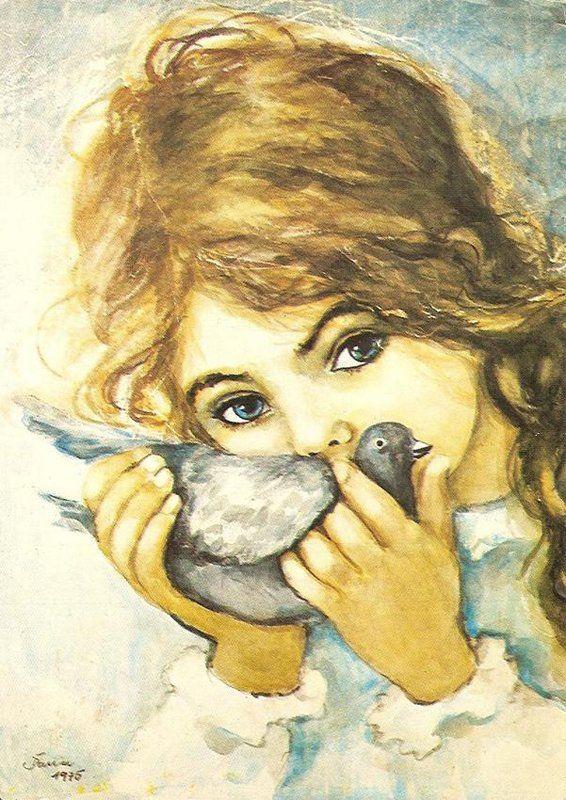 Remember these from my childhood - artist Muszynska-Zamorska