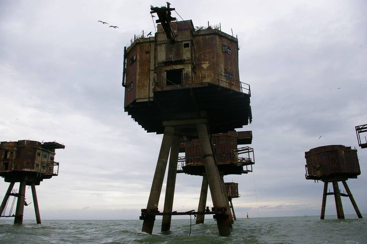 The Maunsell Forts in Whitstable, Kent, England   Cool Places UK