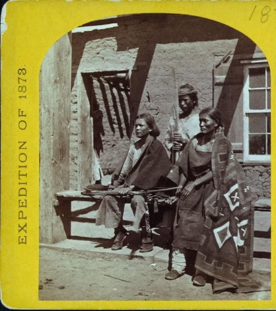 Navajo. Expedition of 1873.