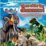 Découvrez l'activité pour enfants Viens aider les dinosaures - Playmobil FunPark, Playmobil FunPark, Jeux & Loisirs à Paris sur Wondercity