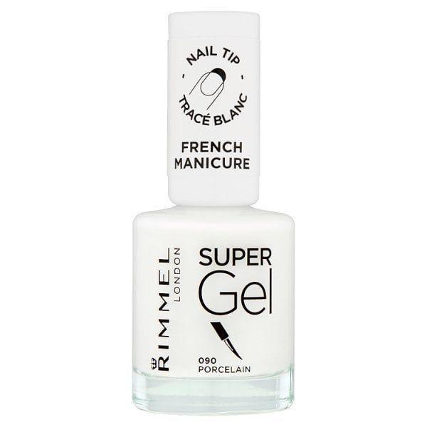 Rimmel London Super Gel French Manicure Porcelain 090 Superdrug Gel French Manicure Manicure Rimmel London