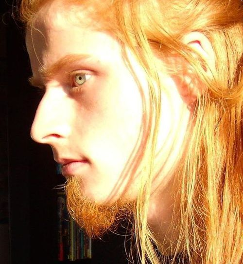 .. with a beard...?  Inter bred human and elf - Dunadin ;P