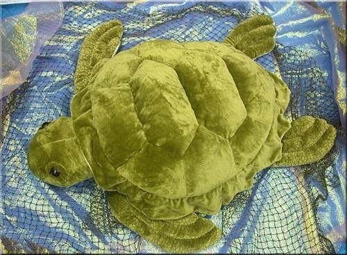 """Wishpets 38"""" Giant Sea Turtle"""