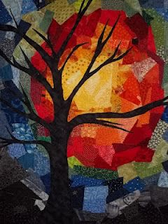 beautiful - do with magazine paper and construction paper