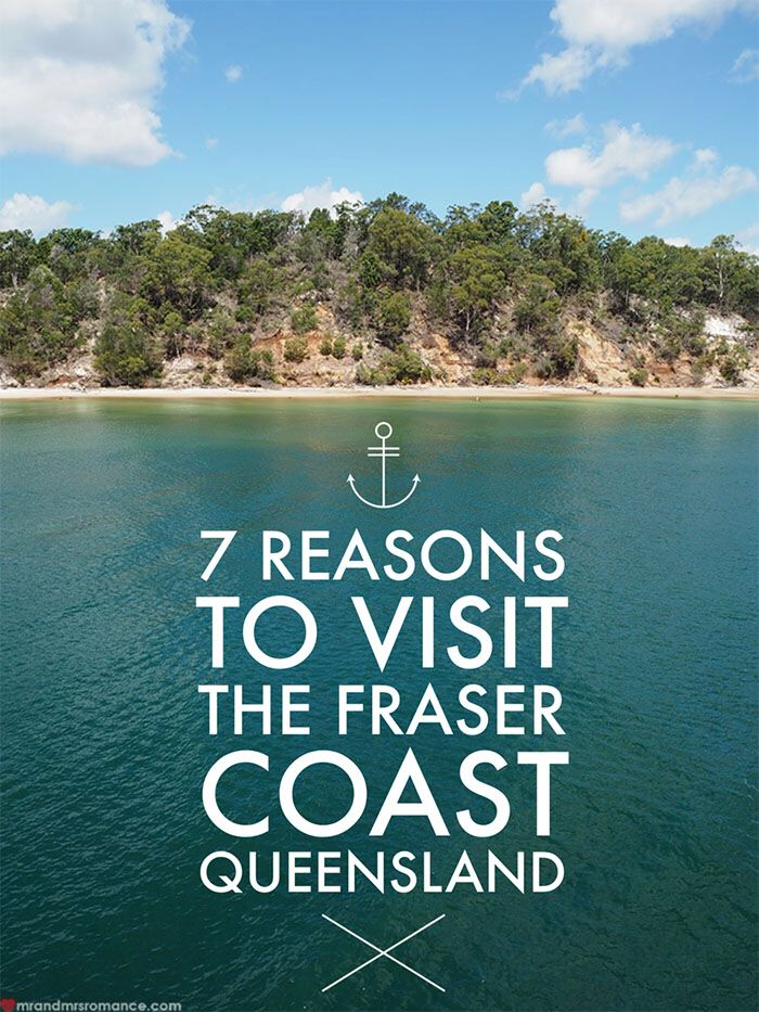 7 reasons to visit the Fraser Coast in Queensland, Australia