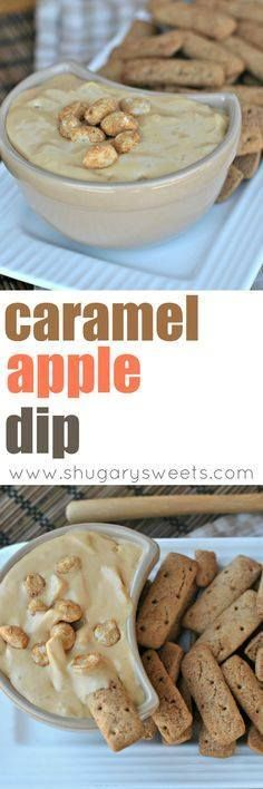 Grab your crackers Grab your crackers apples or spoons! This creamy Caramel Apple Dip is outrageously delicious! Recipe : http://ift.tt/1hGiZgA And @ItsNutella  http://ift.tt/2v8iUYW  Grab your crackers Grab your crackers apples or spoons! This...