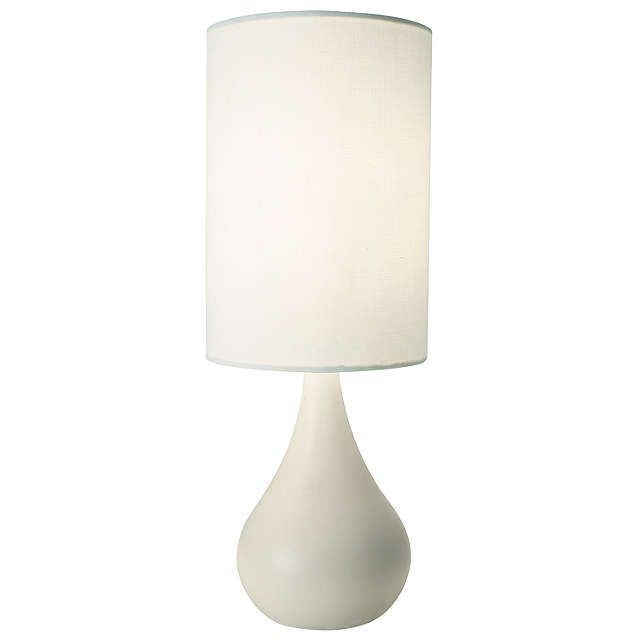 BuyJohn Lewis Kristy Touch Lamp, White Online at johnlewis.com