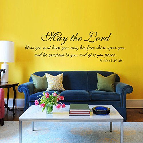 Best 12 religious decal images on Pinterest | Bible scriptures, Wall ...