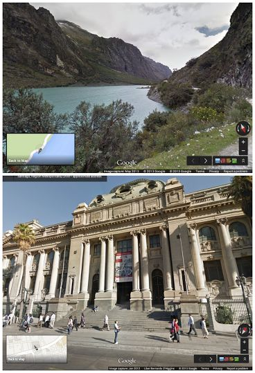 Google Maps Street View Now In Peru, The 51st Addition To Service