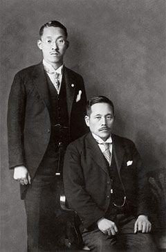 Josei Toda and Tsunesabaro Makiguchi #onedierction  ... but never stop play games