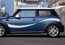 Mini Cooper S Countryman Sport Stripes 3M Vinyl Stickers UK Swoop side Kit