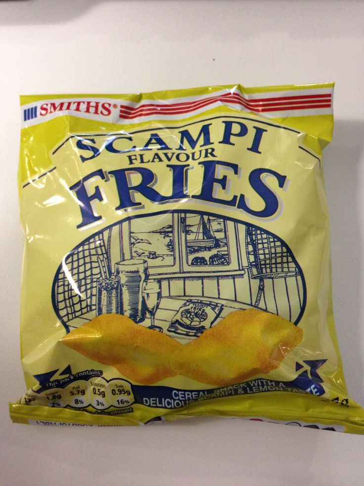 Scampi Fries, delicious