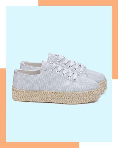Coucou les sneakers addict ☺☻☺ A retrouver sur lamodeuse.com #sneakers #trainers #flatforms #tennis #plateforme #espadrilles #cordage #blog #mode